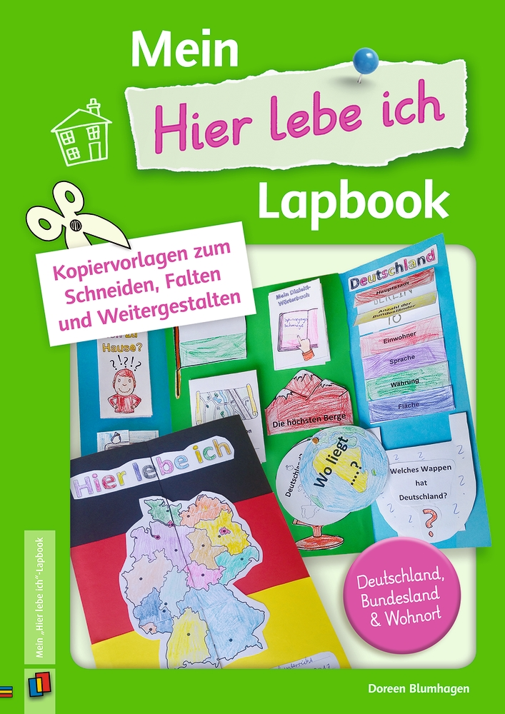 mein hier lebe ich lapbook von blumhagen doreen kopiervorlagen. Black Bedroom Furniture Sets. Home Design Ideas
