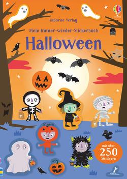 Mein Immer-wieder-Stickerbuch: Halloween von Baggott,  Stella, Ellis,  Lauren, Smith,  Sam