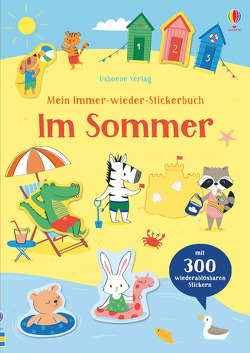 Mein Immer-wieder-Stickerbuch: Im Sommer von Lenzi,  Malu, Watson,  Hannah