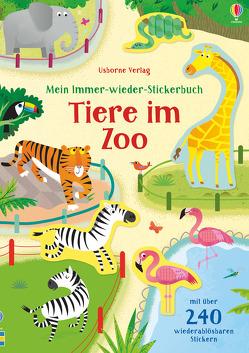Mein Immer-wieder-Stickerbuch: Tiere im Zoo von Bathie,  Holly, Lucas,  Gareth