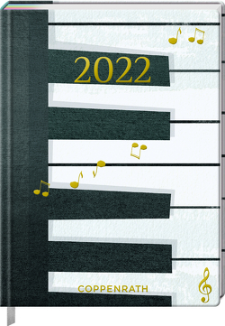 Mein Jahr 2022 – Piano (All about music) von Sander,  Gesa