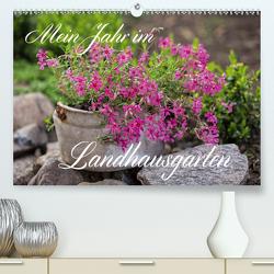 Mein Jahr im Landhausgarten (Premium, hochwertiger DIN A2 Wandkalender 2020, Kunstdruck in Hochglanz) von Haase,  Andrea