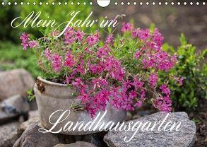 Mein Jahr im Landhausgarten (Wandkalender 2018 DIN A4 quer) von Haase,  Andrea