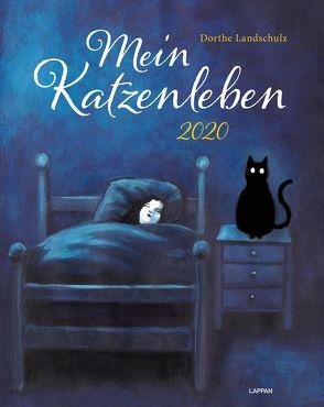 Mein Katzenleben 2020: Wandkalender mit humorvollen Katzenbildern von Landschulz,  Dorthe