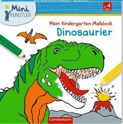 Mein Kindergarten-Malbock: Dinosaurier von Frey-Spieker,  Raimund