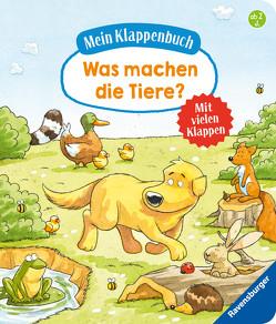 Mein Klappenbuch: Was machen die Tiere? von Gernhäuser,  Susanne, Rupp,  Dominik