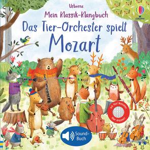 Mein Klassik-Klangbuch: Das Tier-Orchester spielt Mozart von Jatkowska,  Ag, Taplin,  Sam