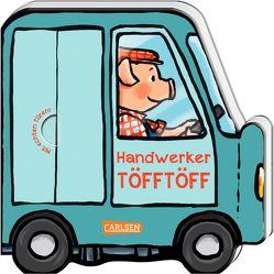 Mein kleiner Fahrzeugspaß: Handwerker-Töfftöff von Wieker,  Katharina