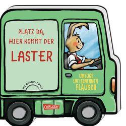 Mein kleiner Fahrzeugspaß: Platz da, hier kommt der Laster von Wieker,  Katharina