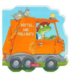 Mein kleiner Fahrzeugspaß: Rüttel, das Müllauto von Bayer,  Michael, Grimm,  Sandra