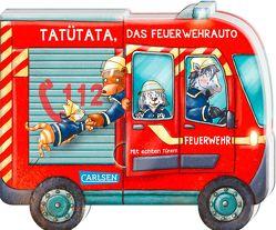 Mein kleiner Fahrzeugspaß: Tatütata, das Feuerwehrauto von Birkenstock,  Anna Karina, Grimm,  Sandra