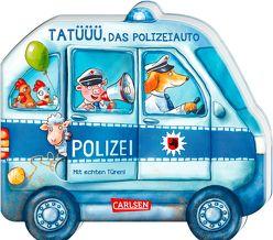 Mein kleiner Fahrzeugspaß: Tatüüü, das Polizeiauto von Birkenstock,  Anna Karina, Grimm,  Sandra