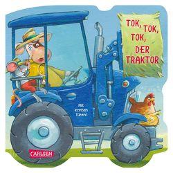 Mein kleiner Fahrzeugspaß: Tok, tok, tok, der Traktor von Bayer,  Michael, Grimm,  Sandra