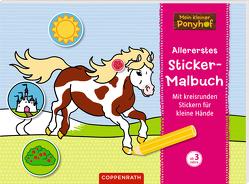 Mein kleiner Ponyhof: Allererstes Sticker-Malbuch von Roß,  Philipp