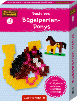 Mein kleiner Ponyhof: Bastelbox: Bügelperlen-Ponys