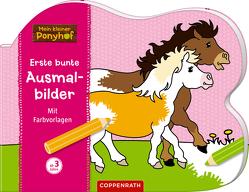 Mein kleiner Ponyhof: Erste bunte Ausmalbilder von Roß,  Philipp