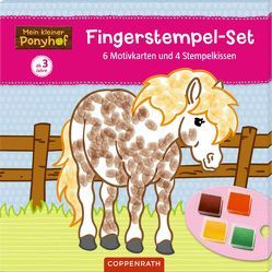 Mein kleiner Ponyhof: Fingerstempel-Set von Roß,  Philipp