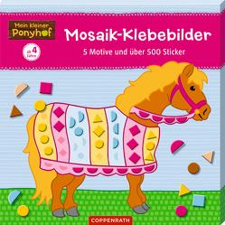 Mein kleiner Ponyhof: Mosaik-Klebebilder von Roß,  Philipp