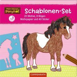 Mein kleiner Ponyhof: Schablonen-Set von Roß,  Philipp