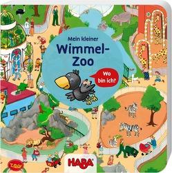Mein kleiner Wimmel-Zoo von Schmidt,  Annika, Storch,  Imke, Zimmermann,  Anna