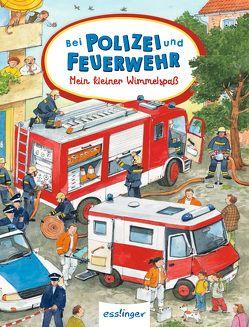 Mein kleiner Wimmelspaß: Bei Polizei und Feuerwehr, VE 5 Expl. von Wandrey,  Guido