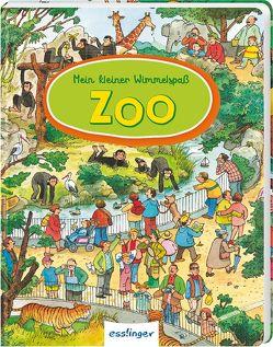 Mein kleiner Wimmelspaß: Zoo von Wandrey,  Guido