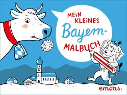 Mein kleines Bayern-Malbuch von Hanisch,  Elke
