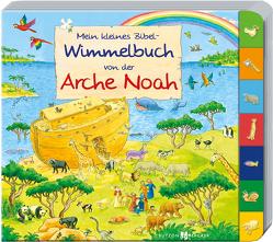 Mein kleines Bibel-Wimmelbuch von der Arche Noah von Lörks,  Vera, Tophoven,  Manfred