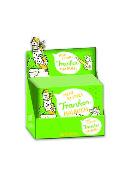 Mein kleines Franken-Malbuch (Box) von Hanisch,  Elke