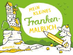 Mein kleines Franken-Malbuch von Hanisch,  Elke