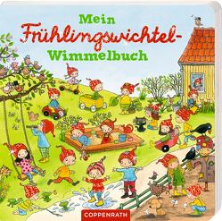 Mein kleines Frühlingswichtel-Wimmelbuch von Kaden,  Outi, Schaefer,  Kristina