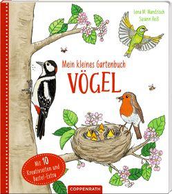 Mein kleines Gartenbuch: Vögel von Reiß,  Susann, Wandzioch,  Lena Maria