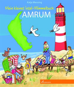 Mein kleines Insel-Wimmelbuch Amrum von Mensing,  Katja