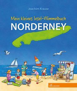 Mein kleines Insel-Wimmelbuch Norderney von Krause,  Joachim
