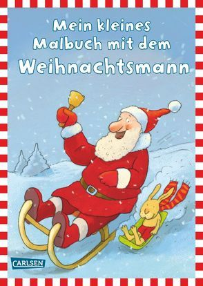 Mein kleines Malbuch mit dem Weihnachtsmann von Schober,  Michael