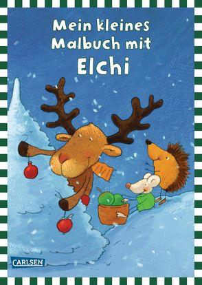 Mein kleines Malbuch mit Elchi von Schober,  Michael