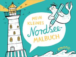 Mein kleines Nordsee-Malbuch von Hanisch,  Elke