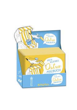 Mein kleines Ostsee-Malbuch (Box) von Hanisch,  Elke