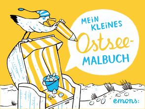 Mein kleines Ostsee-Malbuch von Hanisch,  Elke