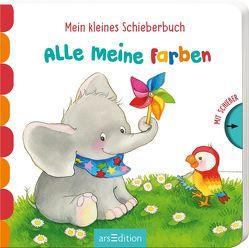 Mein kleines Schieberbuch – Alle meine Farben von Gruber,  Denitza