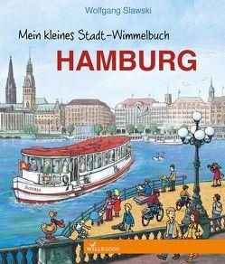 Mein kleines Stadt-Wimmelbuch Hamburg von Slawski,  Wolfgang