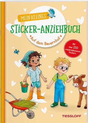 Mein kleines Sticker-Anziehbuch. Auf dem Bauernhof von Kühler,  Anna-Lena