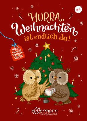 Mein kleines Vorleseglück. Hurra, Weihnachten ist endlich da! von Hardt,  Iris, Paehl,  Nora, Richert,  Katja