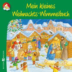 Mein kleines Weihnachts-Wimmelbuch von Tophoven,  Manfred