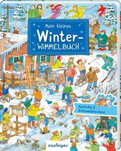 Mein kleines Winter-Wimmelbuch von Wandrey,  Guido