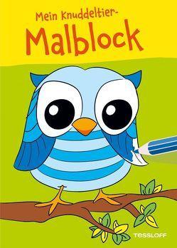 Mein Knuddeltier-Malblock (Eule). Ab 4 Jahren von Poppins,  Oli