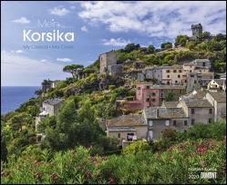 Mein Korsika 2020 – Wandkalender 52 x 42,5 cm – Spiralbindung von DUMONT Kalenderverlag, Kustos,  Norbert