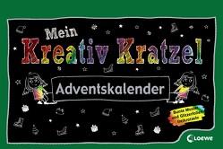 Mein Kreativ-Kratzel Adventskalender von Gertenbach,  Pina