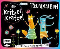 Mein Kritzel-Kratzel-Freundealbum von Vigh,  Inka