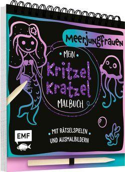 Mein Kritzel-Kratzel-Malbuch – Meerjungfrauen